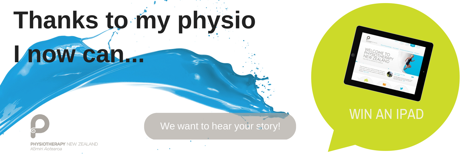 Share Your Physiotherapy Story And You Could Win An IPad!
